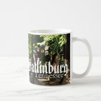 Gatlinburg, Tennessee - Village Square shopping Coffee Mug
