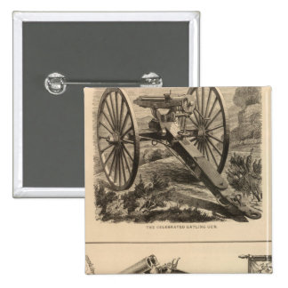 Gatling Gun Company Schuyler, Hartley and Graham Buttons