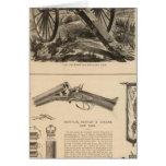 Gatling Gun Company Schuyler, Hartley and Graham Greeting Card