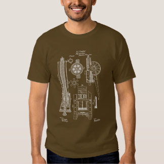 Gatling Gun US Patent T Shirt