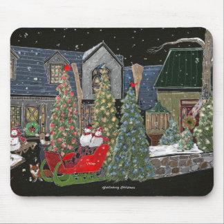 gatlingburg christmas mouse pad