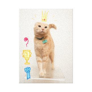 Gato #1 lona estirada galerías