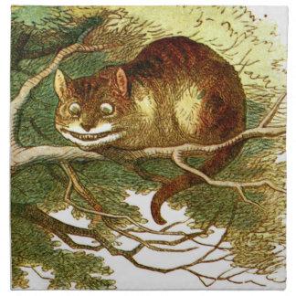 Gato 2 de Cheshire Servilleta Imprimida