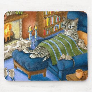 gato 459 alfombrilla de ratón