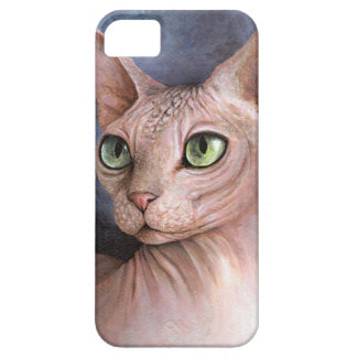 Gato 578 Sphynx Funda Para iPhone 5 Barely There