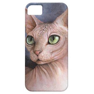 Gato 578 Sphynx Funda Para iPhone 5 Barely There