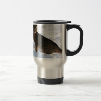 Gato abisinio taza de café