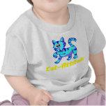 Gato-Actitud Camiseta