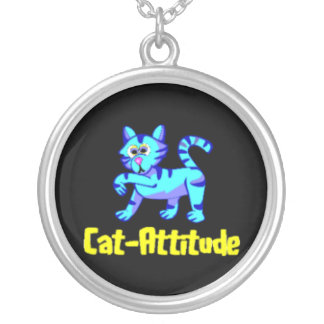 Gato-Actitud Colgante Redondo