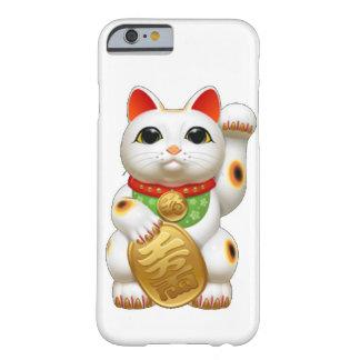 gato afortunado del maneki-neko funda barely there iPhone 6
