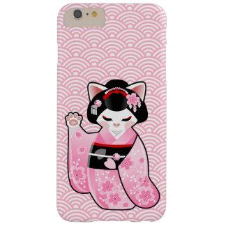 Gato afortunado japonés Maiko de Kokeshi Maneki Funda Barely There iPhone 6 Plus