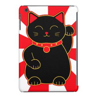 Gato afortunado negro fundas de iPad mini