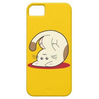Gato al revés iPhone 5 cobertura