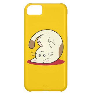 Gato al revés funda para iPhone 5C