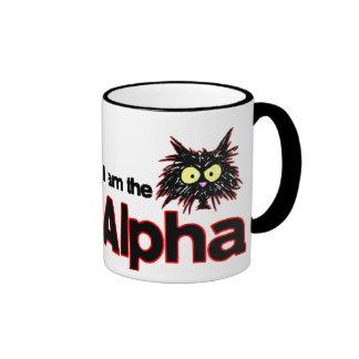 Gato alfa tazas