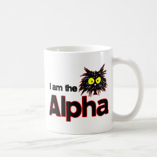 Gato alfa taza