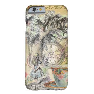 Gato Alicia de Cheshire en el país de las Funda Para iPhone 6 Barely There