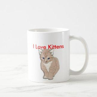 gato, amo los gatitos - modificados para taza clásica