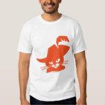 Gato anaranjado poleras