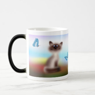 Gato astuto tazas