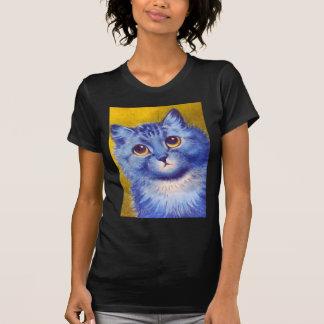 Gato azul camisetas