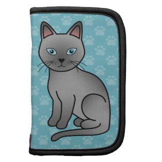 Gato azul de Tonkinese Planificador