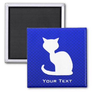Gato azul imanes