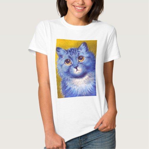 Gato azul poleras