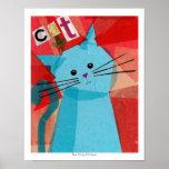 Gato azul posters