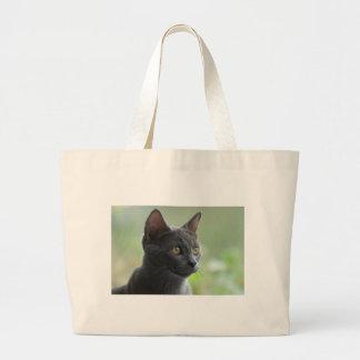Gato azul ruso bolsas de mano