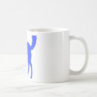 Gato azul taza clásica