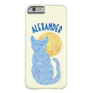 Gato azul y el gatito felino del amante del gato funda barely there iPhone 6