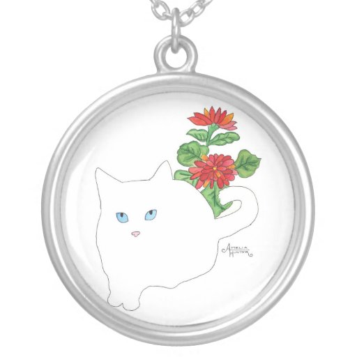 Gato blanco grimpola personalizada