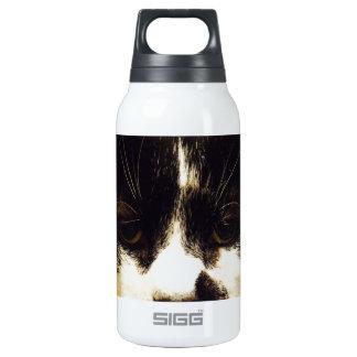 Gato blanco y negro de Monty Botella Isotérmica De Agua