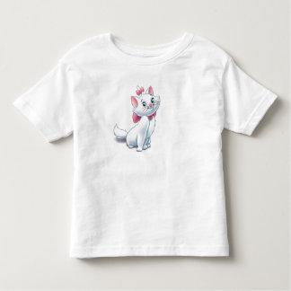 Gato blanco y rosado Disney de Aristocats lindo Playera