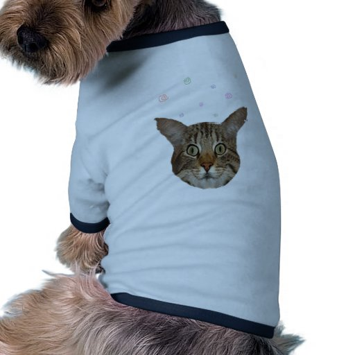 gato boing boing camiseta con mangas para perro