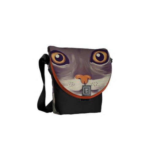 gato bolsas de mensajeria