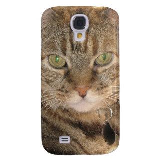 gato bonito funda para galaxy s4