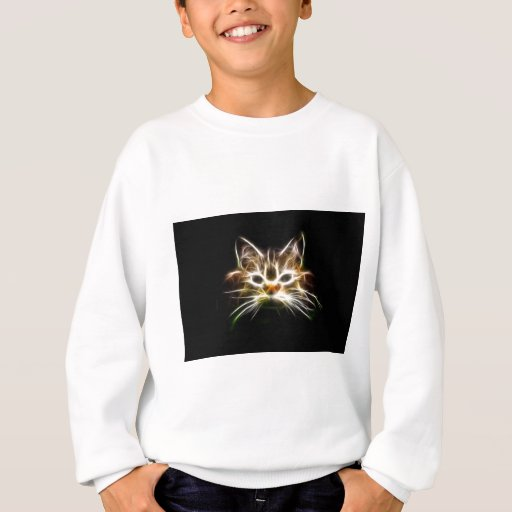 Gato brillante playera