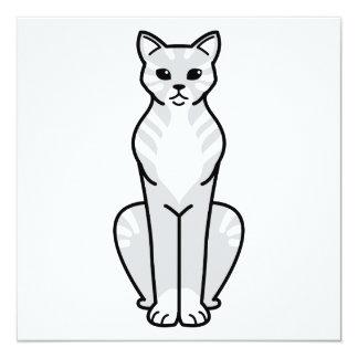 Gato Cat Cartoon Card