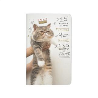Gato Celeberity del Internet Cuadernos