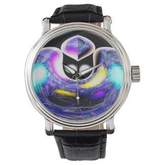 Gato celestial extranjero relojes de pulsera