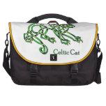 Gato céltico bolsas de portatil