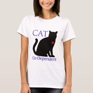 Gato Co-Dependiente Playera