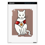 Gato con diseño azteca iPad 3 skins
