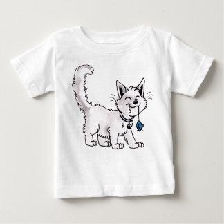 Gato con la camiseta del niño del ratón del remera