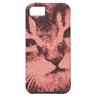 gato con una actitud funda para iPhone SE/5/5s