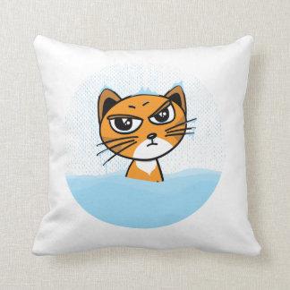 Gato congelado almohada