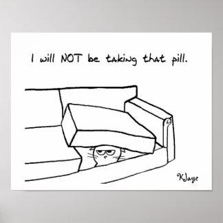 Gato contra la píldora - poster para Office del