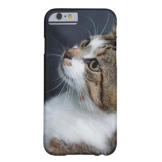 Gato curioso funda de iPhone 6 barely there